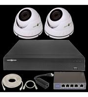 IP Комплект Відеоспостереження GV-ІР-К-L24/02 1080 P